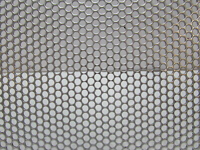 532 Round Hole.- 18 Ga. Stainless Perforated Sheet -10-34 X 24