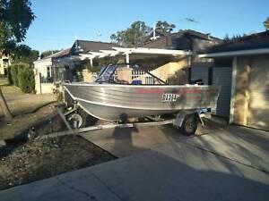 4.1 meter Bermuda wide body Boat