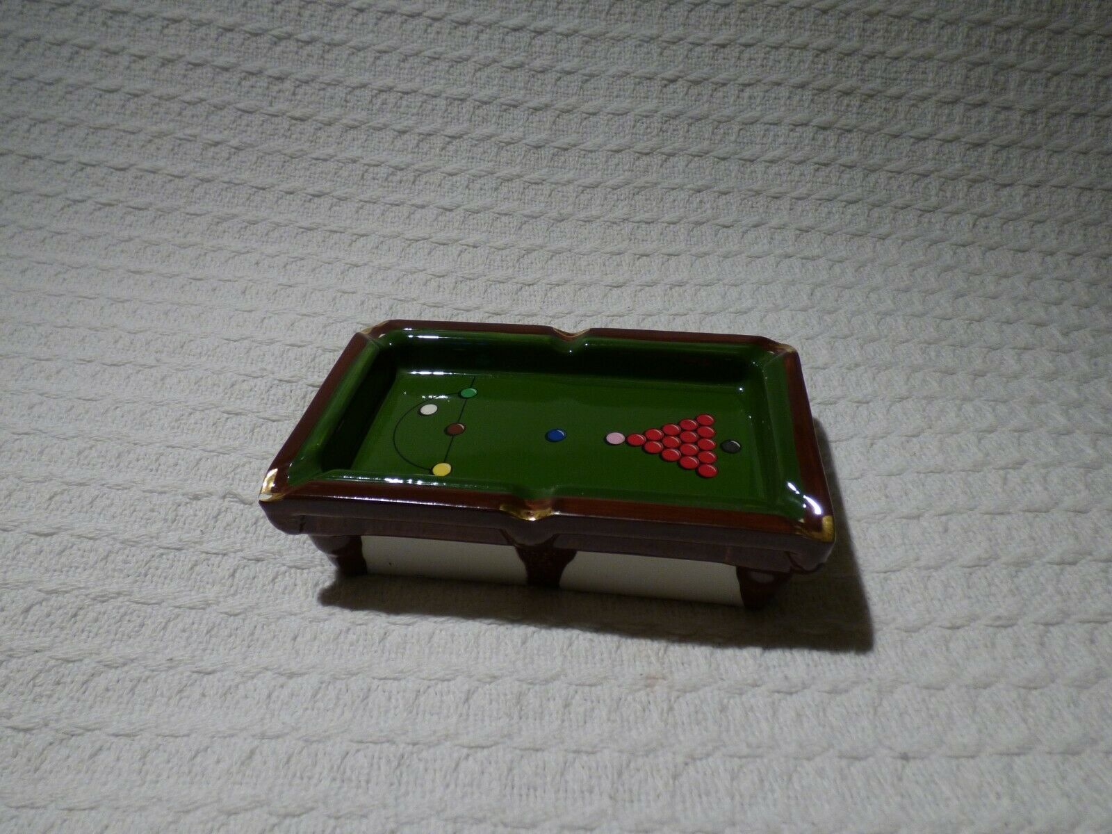 Embassy World Snooker Championship Ceramic Ashtray Ltd Edition