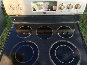 Kenmore glass top oven*needs control board*