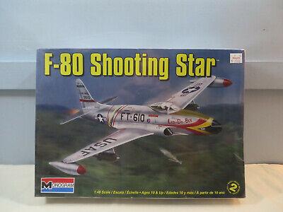 Monogram 1:48 F-80 SHOOTING STAR Model Kit 85-5311 SEALED for sale  USA