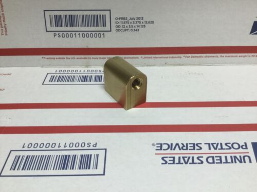 "12"" Logan lathe cross slide feed nut"