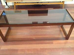 Retro Glass Coffee Table West Richmond West Torrens Area Preview