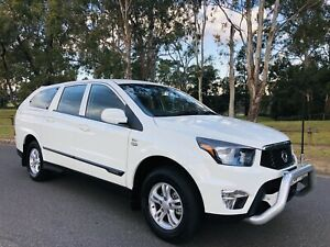 2013 Ssangyong Actyon Sports SX Dual Cab Diesel Turbo Canopy