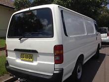 HIACE LONG WHEEL BASE,12 MONTH REGO,DUAL FUEL,EXCELLENT CONDITION Strathfield Strathfield Area Preview
