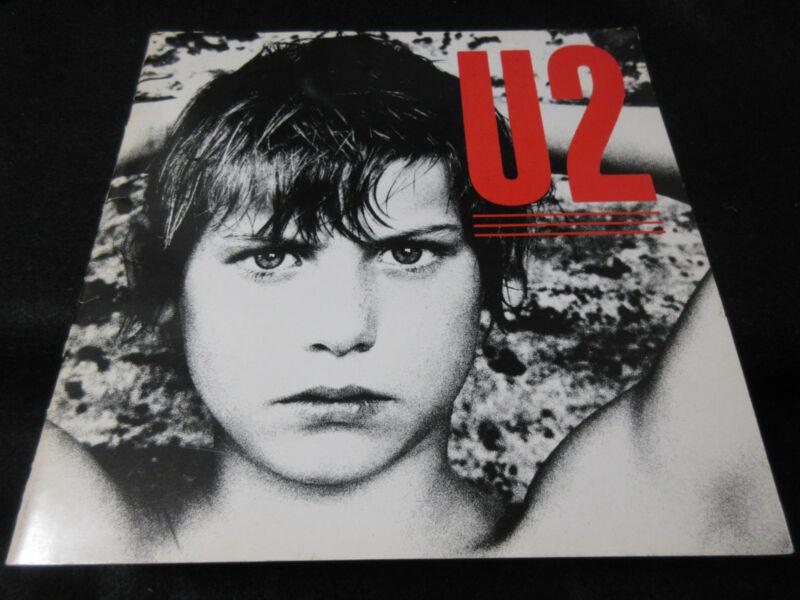 U2 1983 War Japan Tour Book Concert Program Bono Edge