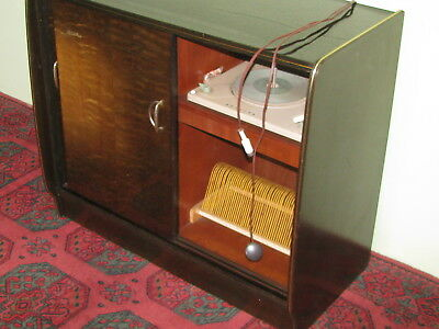RARITÄT 1950er DESIGN MUSIKBOX TONMÖBEL PHILIPS KUBA MUSIKSCHRANK MUSIKTRUHE Design Musik Box