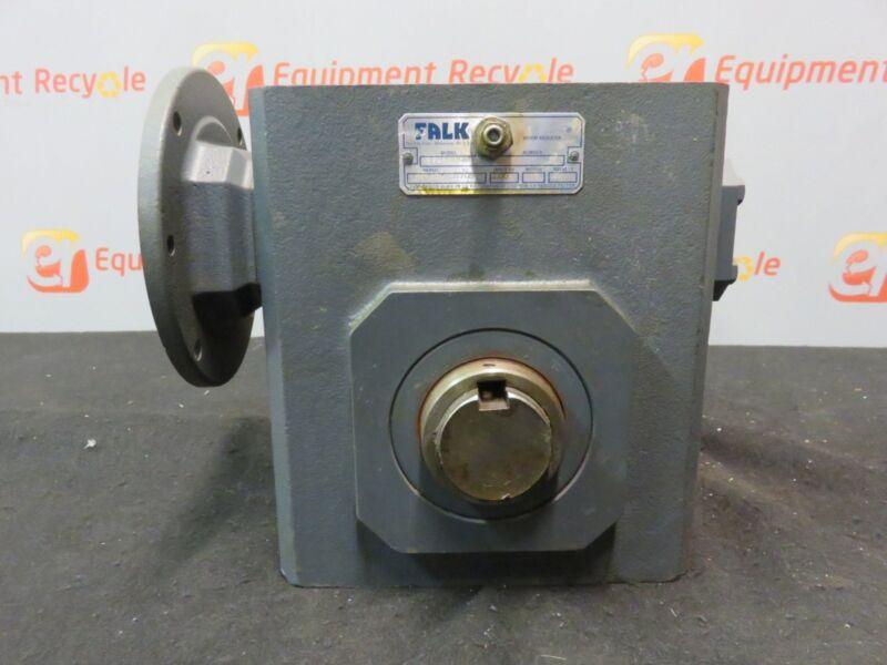 Falk 1325WBQM Right Angle Worm Reducer Gear Box 30.1 Ratio