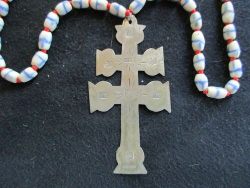 NORTH WEST COMPANY CROSS, NATIVE AMERICAN, NWC FUR TRADE NECKLACE OTT-1021*06012