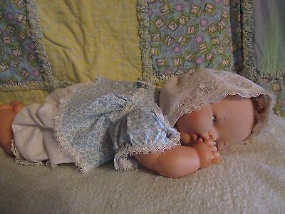 "OLD VINTAGE IDEAL TINY THUMBELINA BABY DOLL 14"" TAGGED DRESS OTT-14"
