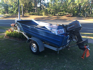 Quintrex 12.5 ft tinny Morayfield Caboolture Area Preview