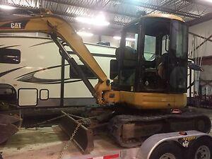 mini excavatrice cat 304 cr 2005