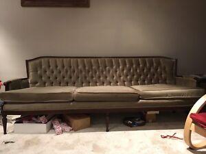 Antique 3 pc Sofa Set