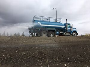 Water truck services