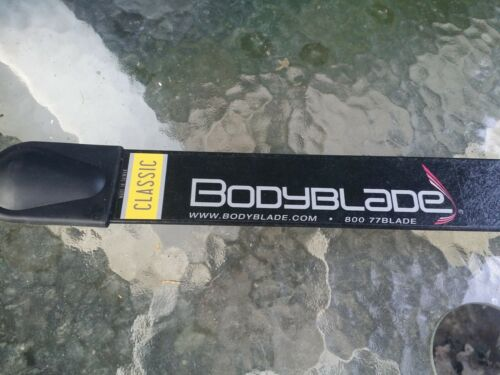 "Bodyblade Classic 48"" Body Blade Cardio Fitness Exercise Resistance Bar + DVD"