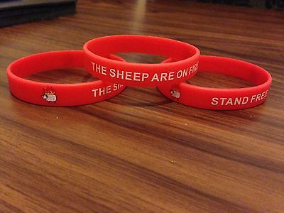 Sheep Are On Fire wristband, Aberdeen FC, Stand Free *new*