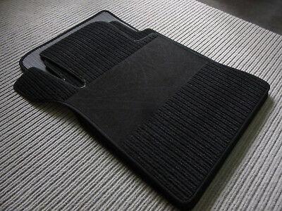 $$$ Rips Fußmatten für Mercedes Benz S-Klasse W126 SEL + schwarz +NEU + Maß $$$