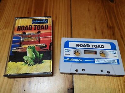 Road Toad (rare similar to Frogger) For Commodore 64 tested and working
