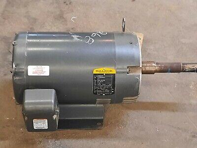Baldor Motor Phase 3 15 Hp 208 Volts 230460 Primsec V 60 Hz Des A Cls F