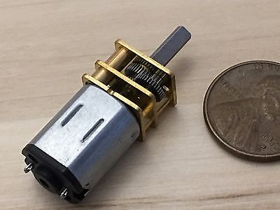 1 Piece 12v 300rpm Micro Shaft Car Toy Reduced Metal Gear Electric Motor C34