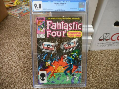 Fantastic Four 279 cgc 9.8 Marvel 1985 Dr Doom cover Doctor Doomsday John Byrne
