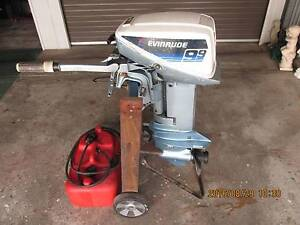 9.9 HP EVINRUDE OUTBOARD MOTOR S/SHAFT Swansea Lake Macquarie Area Preview