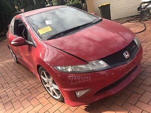 Wrecking red Honda Civic hatch Yennora Parramatta Area Preview