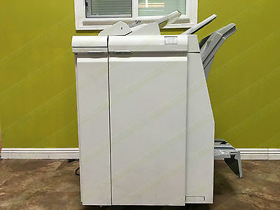 Xerox Light Production C Finisher Booklet Maker Stapler Hole Punch - Tkx