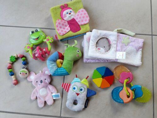 Baby Spielzeugpaket 9 Teile Spielzeug Haba Pusblu Chicco Jako-o Mädchen