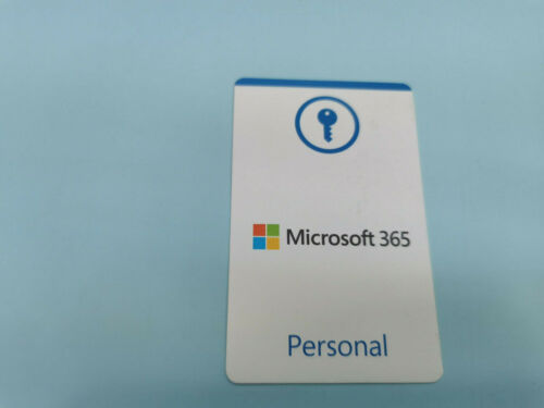 Microsoft Office 365 Personal 12-Month Subscription for 1 PC or MAC Key Card