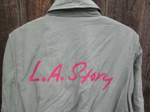 L.A. STORY Vintage 1991 STEVE MARTIN  Film Crew Jacket  Sarah Jessica Parker