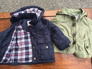 Baby boy winter coats