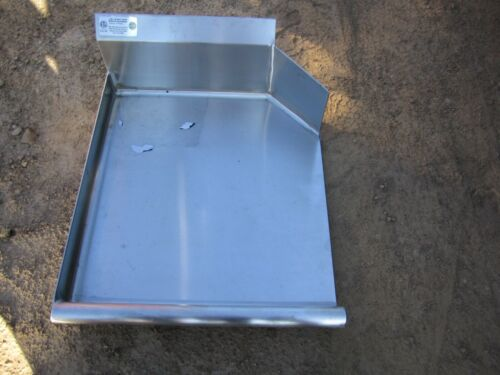 "DT70052 24"" SS Dish Table No Legs"