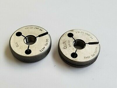 12-20 Unf-3a Go And Nogo Thread Ring Gages