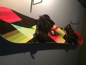 Firefly snowboard with bindings, boots and bag. $450 OBO