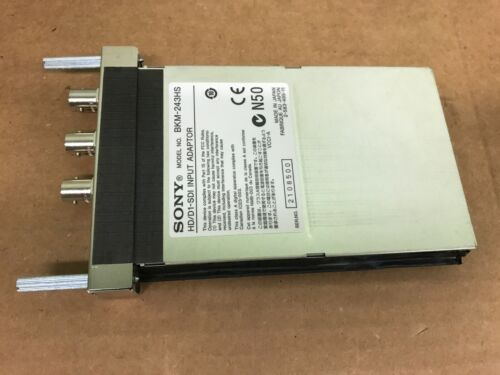 Sony BKM-243HS Digital HD/D1 SDI Input Adaptor