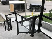 Do you need Aluminum / Glass Railings or Columns for your home?