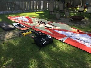 Cabrinha switchblade kite ,board and full kit