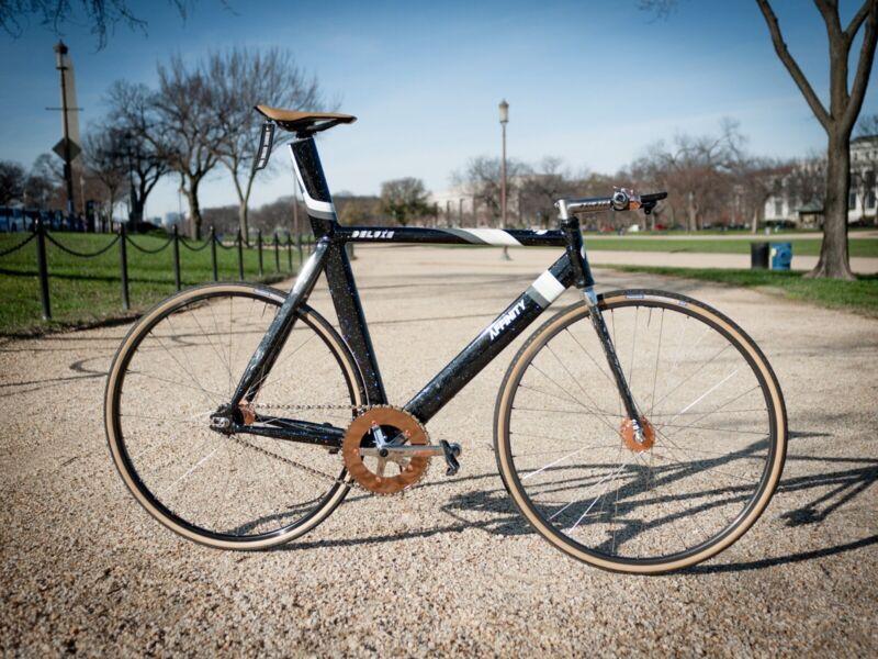 Copper Phil Wood x Tb14 x DT Swiss 32H Track Wheelset