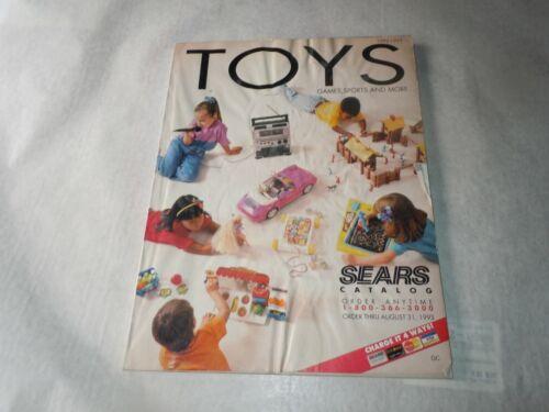 Vtg 1992-1993 Sears TOY Catalog