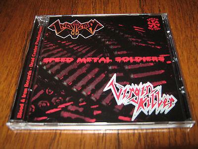 "INQUISITOR / VIRGIN KILLER ""Speed Metal Soldiers"" CD  nocturnal sabbat"