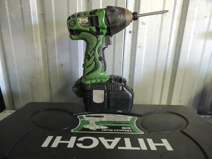 18V Hitachi impact driver with battery charger Brisbane City Brisbane North West Preview