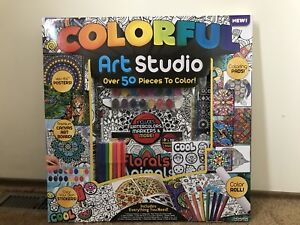 Art Studio with 50 pieces to color. BRAND NEW IN BOX.
