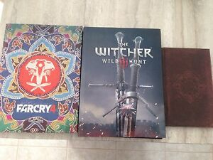 Far cry 4 / witcher 3 Wild hunt collector edition guide