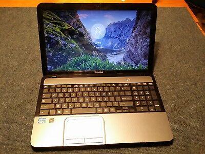 TOSHIBA SATELLITE L855-S5405 INTEL CORE i3 7th GEN 750GB HDD 4GB RAM 15.6 WIN 10