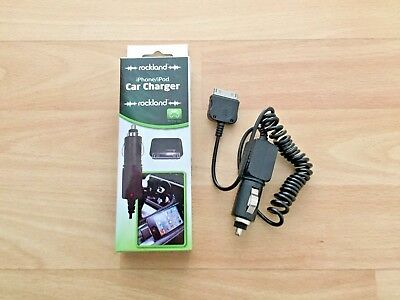 3g Ipod Car Charger (iPhone / iPod / iPad Car Charger -iPhone, 3G, 3GS, 4, 4s & iPod -Rockland F82127)