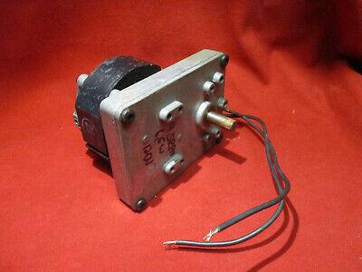 Merkle Korff Industries Gear Head Motor 9.5rpm 65w 120vac