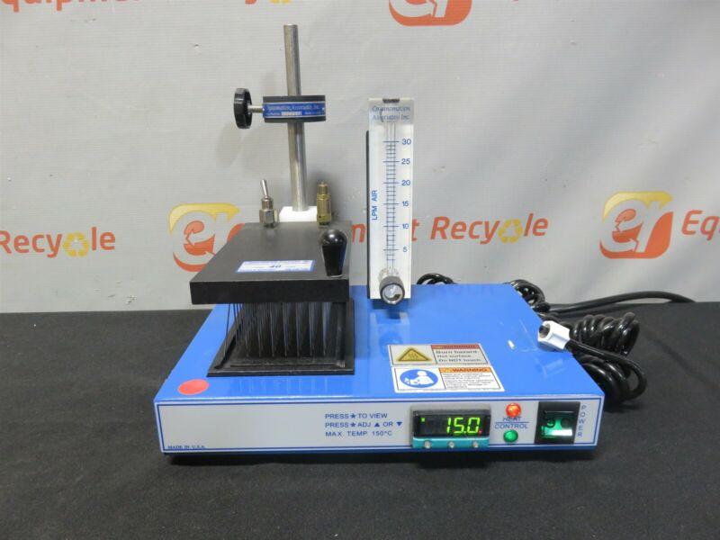 Organomation 20406 Microvap Microplate Evaporator Heated Nitrogen 96 Position