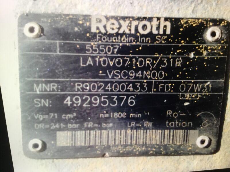 REXROTH HYDRAULIC PUMP 55507
