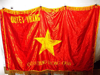 flag524 North Vietnam Air Force NVA flag Quan Chung Khong Quan Quyet Thang
